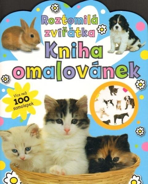 Roztomilá zvířátka - Kniha omalovánek