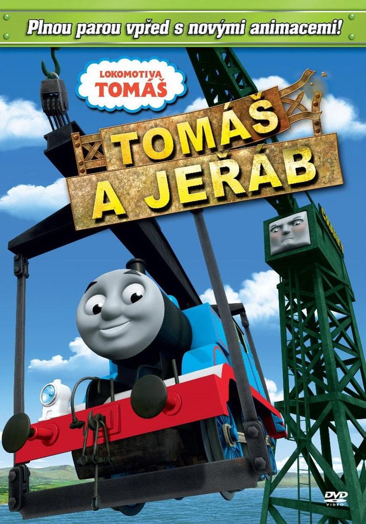 DVD Lokomotiva Tomáš - Tomáš a jeřáb