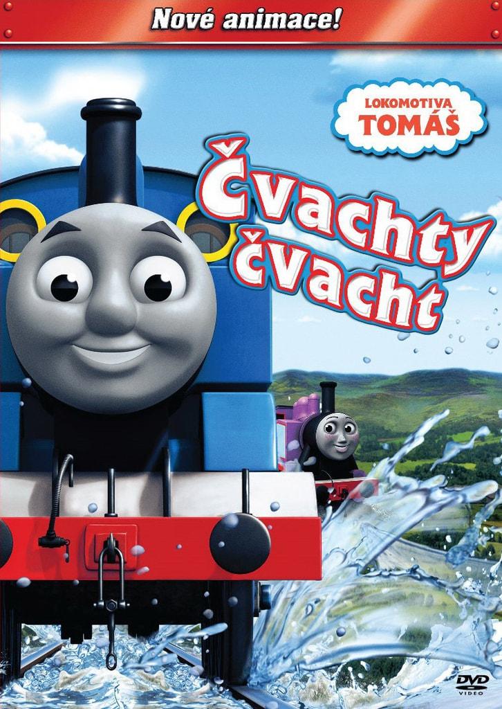 DVD Lokomotiva Tomáš - Čvachty čvacht