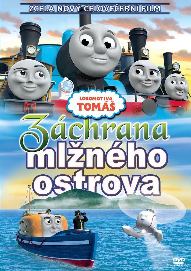 DVD Lokomotiva Tomáš - Záchrana mlžného ostrova