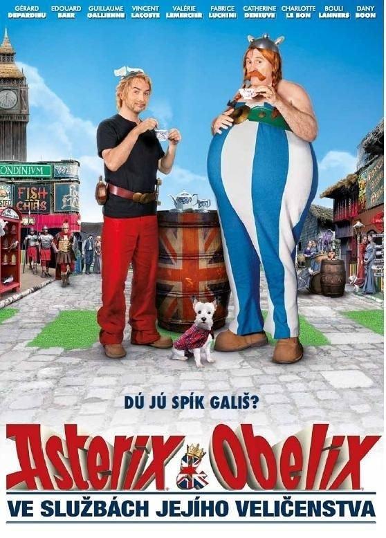 DVD Asterix a Obelix ve službách jejího veličenstva