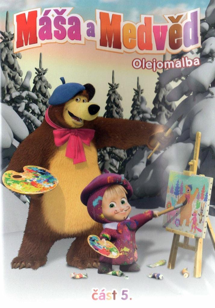 DVD Máša a Medvěd 5 - Olejomalba