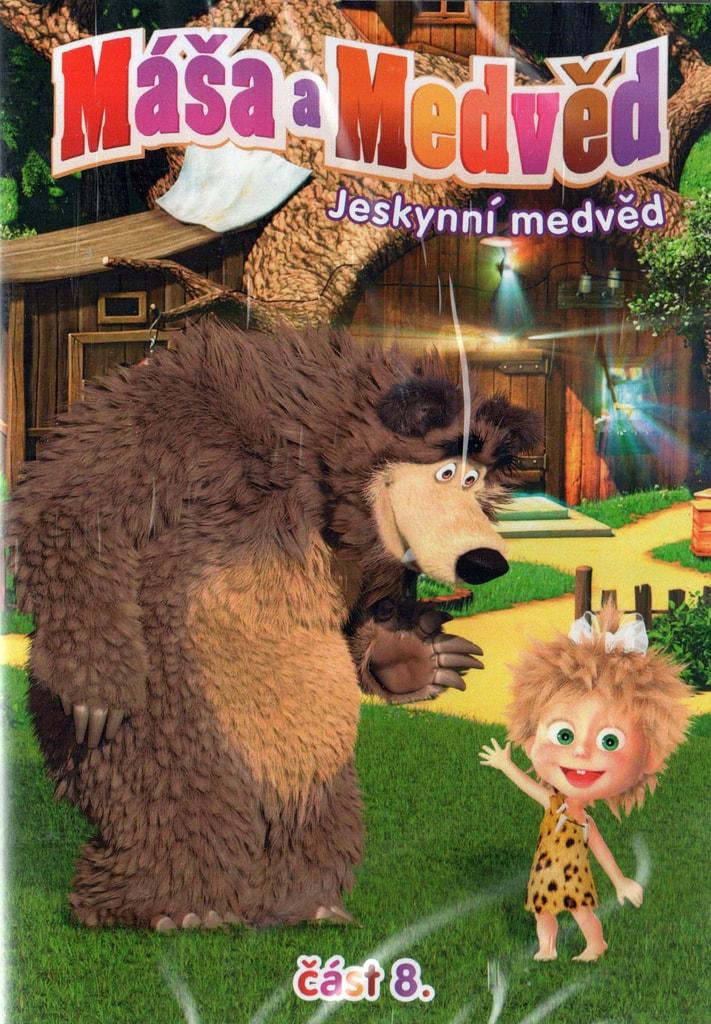 DVD M�a a Medv�d 8 - Jeskynn� medv�d