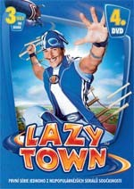 DVD Lazy Town 1. série 4. disk (Slim box)