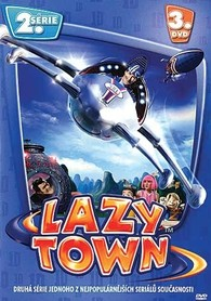DVD Lazy Town 2. série 3. disk (Slim box)