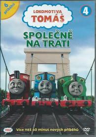 DVD Lokomotiva Tomáš 4 - Společně na trati -