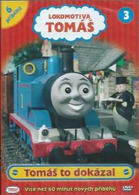 DVD Lokomotiva Tomáš 3 - Tomáš to dokázal -