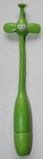 Silikonové psací pero s motivem zvířátka - Pero zvířátka - slon zelený -