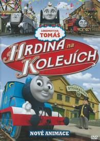 DVD Lokomotiva Tomáš - Hrdina na kolejích -