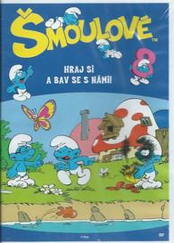 DVD Šmoulové 8 -