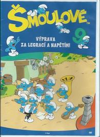 DVD Šmoulové 9 -