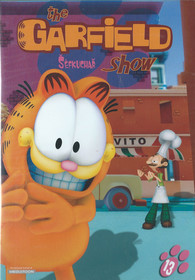 DVD The Garfield show 13 - Šéfkuchař
