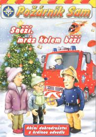 DVD Požárník Sam - Sněží, mráz kolem běží -