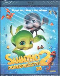 Blu-ray Sammyho dobrodružství 2 3D -