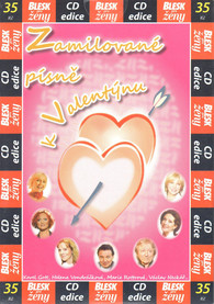 CD Zamilované písně k Valentýnu -