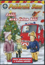 DVD Požárník Sam - Sněží, mráz kolem běží (plast) -