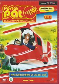 DVD Pošťák Pat - Bezva donášková služba DVD 1 -