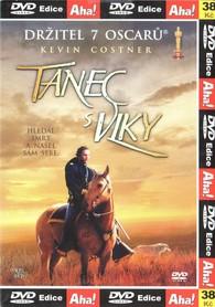 DVD Tanec s vlky - Kevin Costner