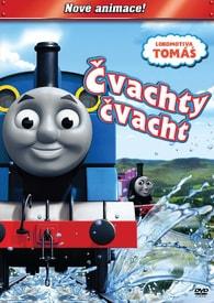 DVD Lokomotiva Tomáš - Čvachty čvacht -