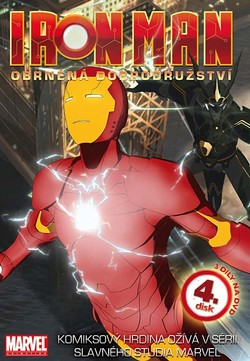 DVD Iron Man 4