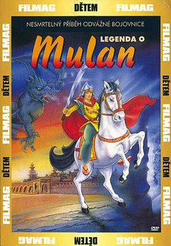 DVD Legenda o Mulan